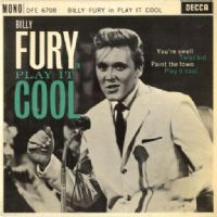 Billy Fury - Play It Cool (DFE 6708) M-/M-